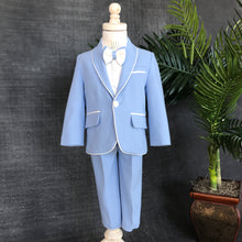 Alex Suit (Blue) - Couture - Itty Bitty Toes