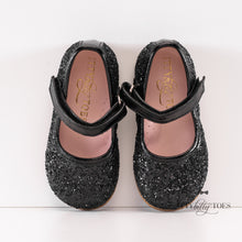 Ina Sparkly Black (Faux)