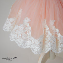 Princess Julia Dress (Rose Gold) - Couture - Itty Bitty Toes