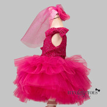 Kenzi Dress (fuchsia)