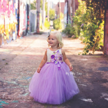 Lili Dress (Purple) - Couture - Itty Bitty Toes