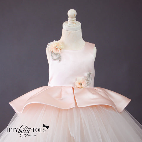 Ava Rose Dress - Couture - Itty Bitty Toes