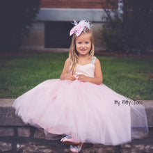 Princess Bianca Dress (Pink) - Couture - Itty Bitty Toes
