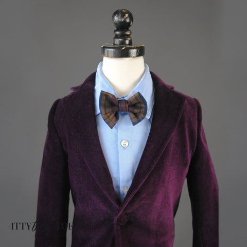 Charles Suit (Purple) - Itty Bitty Toes  - 4