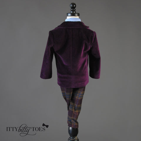 Charles Suit (Purple) - Itty Bitty Toes  - 5
