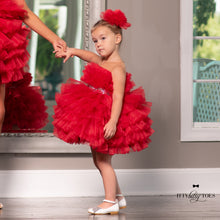 Red Isabela Mommy Dress