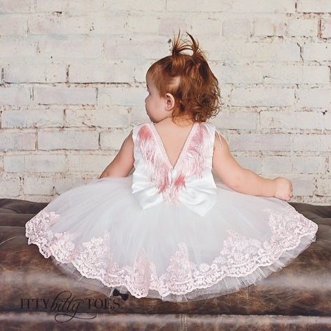Riley Dress - Couture - Itty Bitty Toes