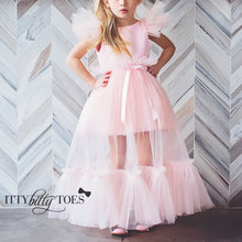Matilda Dress (Pink) - Couture - Itty Bitty Toes