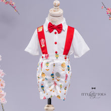 Red Balloon Suspender Set