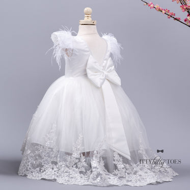 Allie Gown (White)