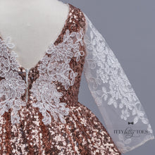 Estelle Dress (Rose Gold)