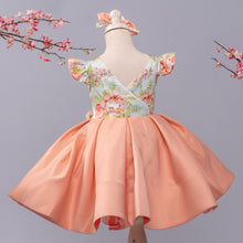 Leila Dress (Peach)