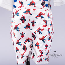Spiderman Inspired Suspenders Set