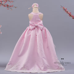 Hi Low Ami Gown (Pink)