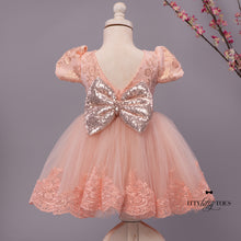Tisha Dress (Rose Gold)