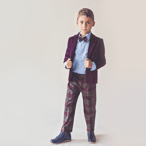 Charles Suit (Purple) - Itty Bitty Toes  - 2