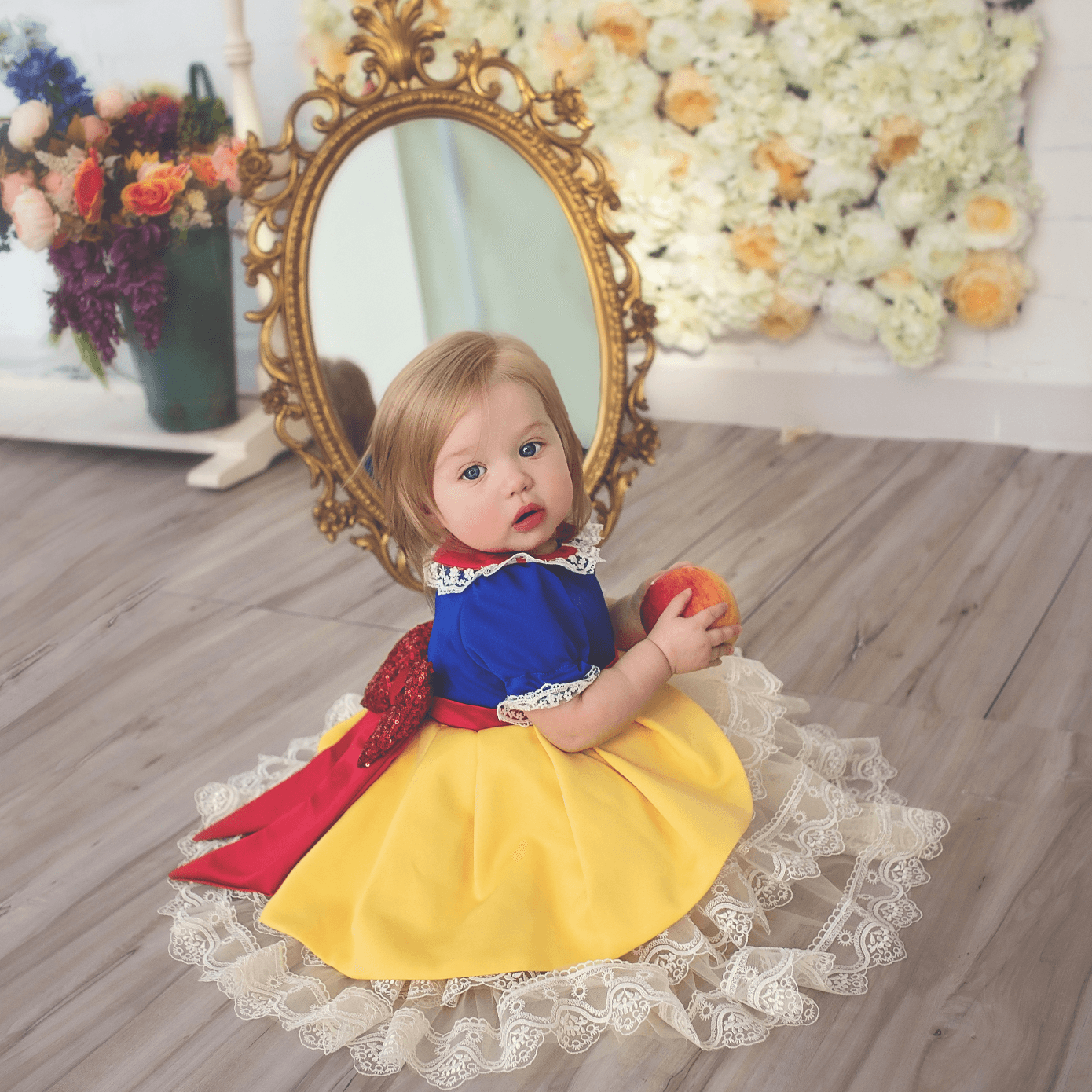 105ad69ee Snow White Inspired Dress - Baby Boutique