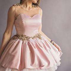 Mommy Blush Swan Dress