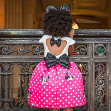 Minnie Inspired Dress - Couture - Itty Bitty Toes