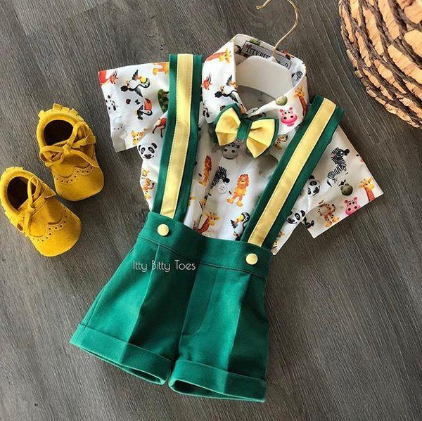 Animal Kingdom Suspender Set