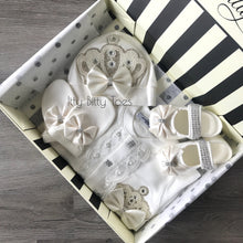 Crown Jewels Set (White) - Newborn Set - Itty Bitty Toes