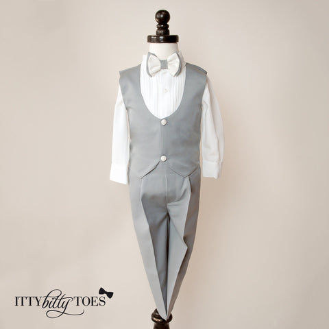 William Vest Set (Gray)