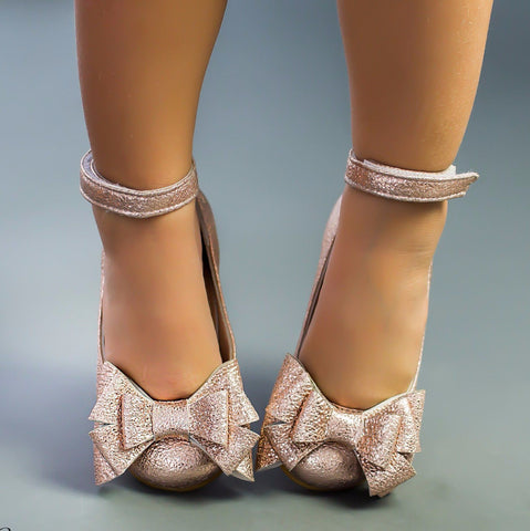 Alba 63 (Rose Gold) - Shoes - Itty Bitty Toes
