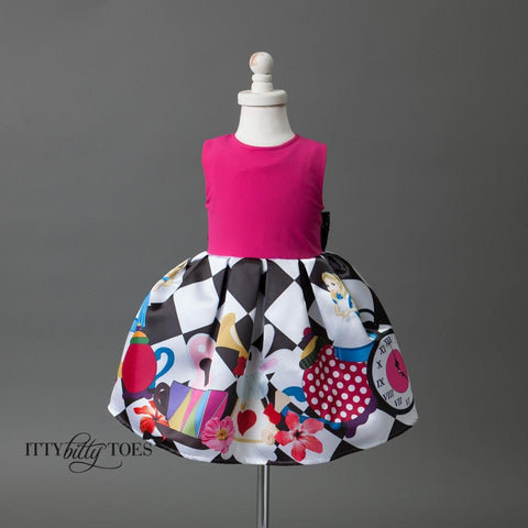 Alice Inspired Dress - Itty Bitty Toes  - 1
