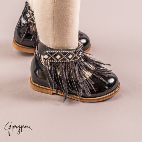 Gigi Black Feather