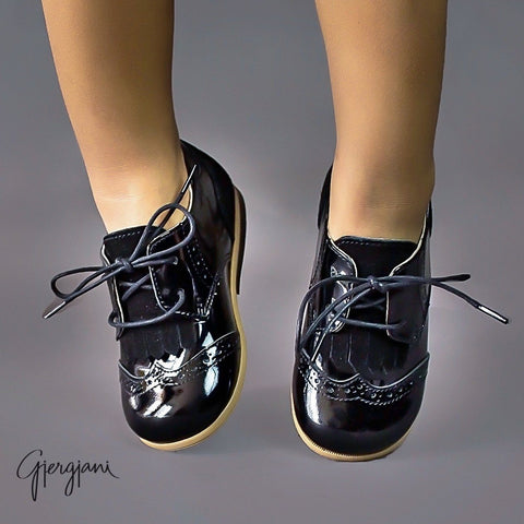 Gjergjani G01-01 - Shoes - Itty Bitty Toes