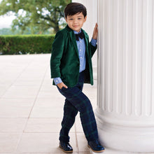 Charles Suit (Green) - Couture - Itty Bitty Toes