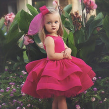 Chelsea Dress (Fuchsia) - Couture - Itty Bitty Toes