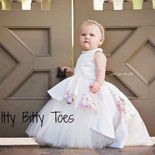 Ivory Rosalina Dress - Couture - Itty Bitty Toes