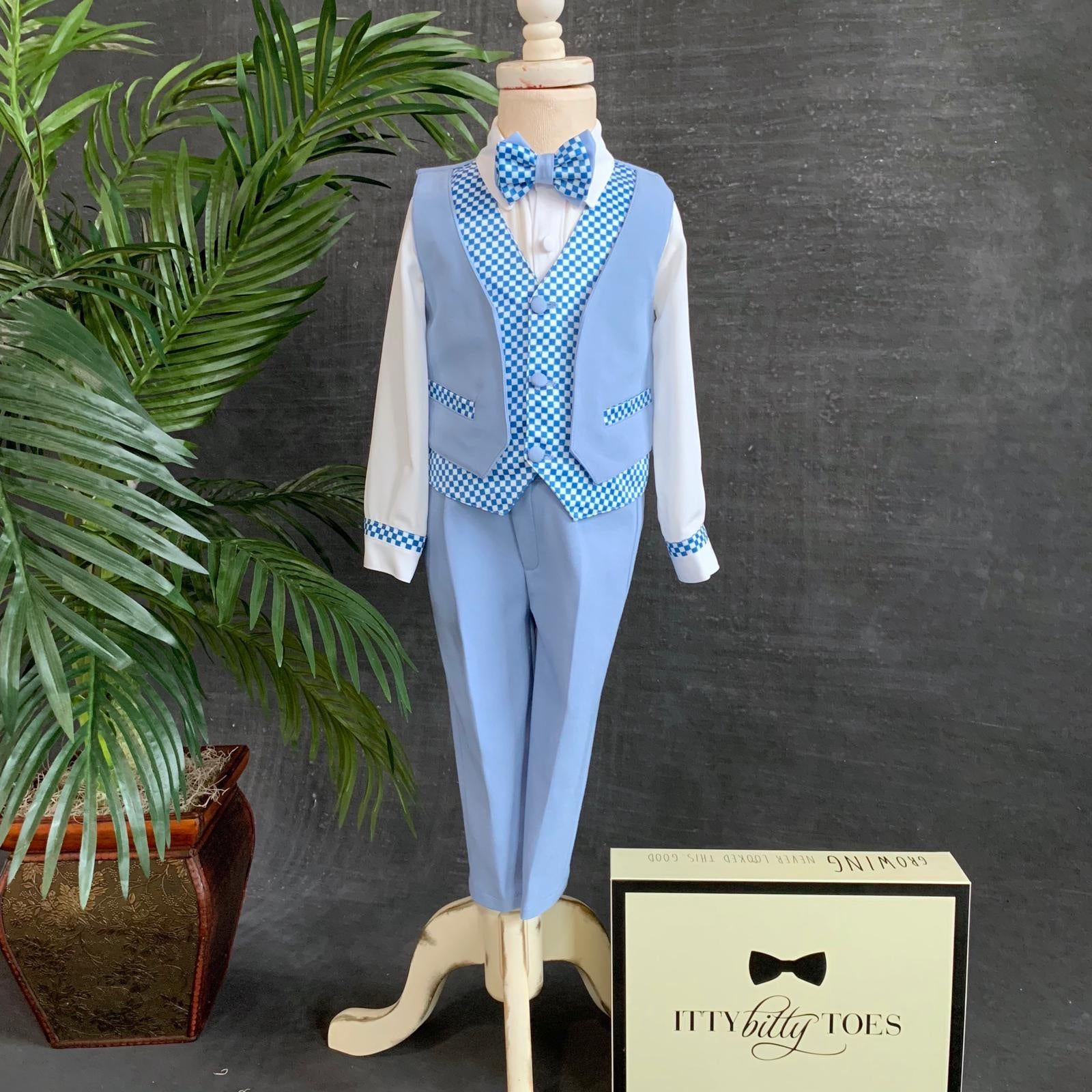Gustavo Suit - Couture - Itty Bitty Toes