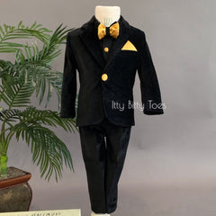 Alex Suit (Velvet Black)