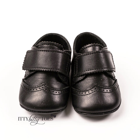 G15-02 Black - Shoes - Itty Bitty Toes