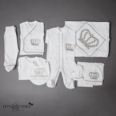 Silver Prince 10 Piece Newborn Set