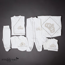 Silver Princess 10 Piece Newborn Set - Newborn Set - Itty Bitty Toes