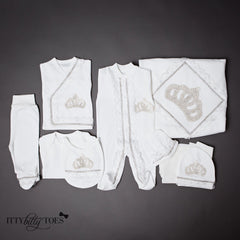 Silver Princess 10 Piece Newborn Set