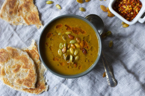 Indonesian Lentil & Pumpkin Soup