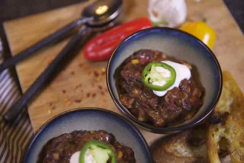 Wild Turkey Chili