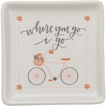 Trinket Trays- Where you go I go