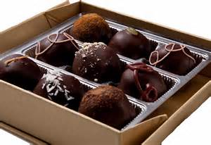 Box of 4 Chocolate Truffles