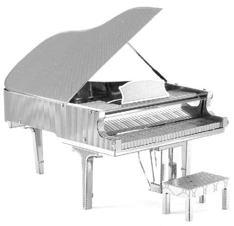 Fascinations Metal Earth Grand Piano