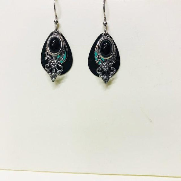 Black Onyx Dangle Earring