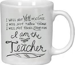 I am the Teacher.. Mug