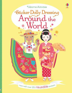 Around the World Sticker Book