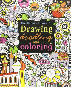 Drawing Doodling & Coloring Book