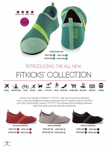 FitKick Shoes Grey