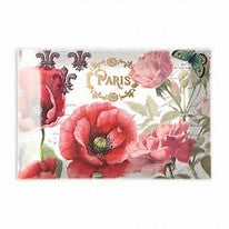 Toujours Paris Glass Soap Tray